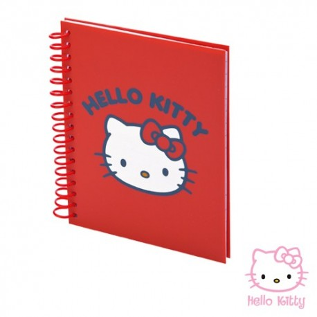 LIBRETA BINTEX*    -HELLO KITTY-*
